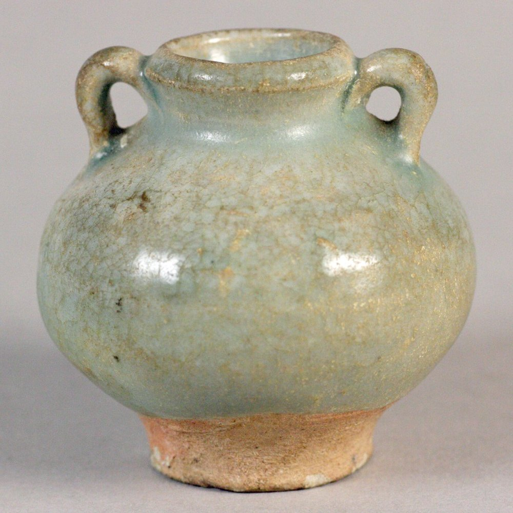 ORIENTAL TWIN HANDLED VASE Song Dynasty 960-1279