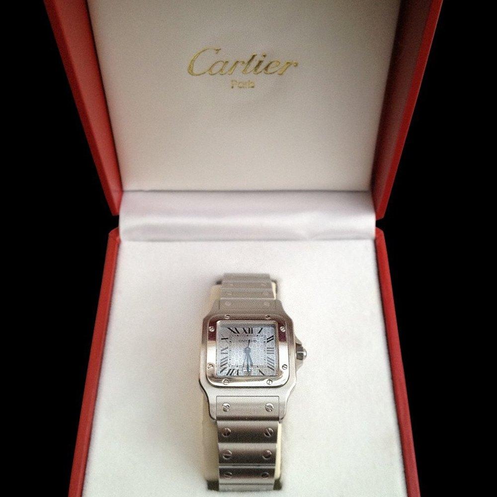 Cartier Santos Stainless Steel W20060D6