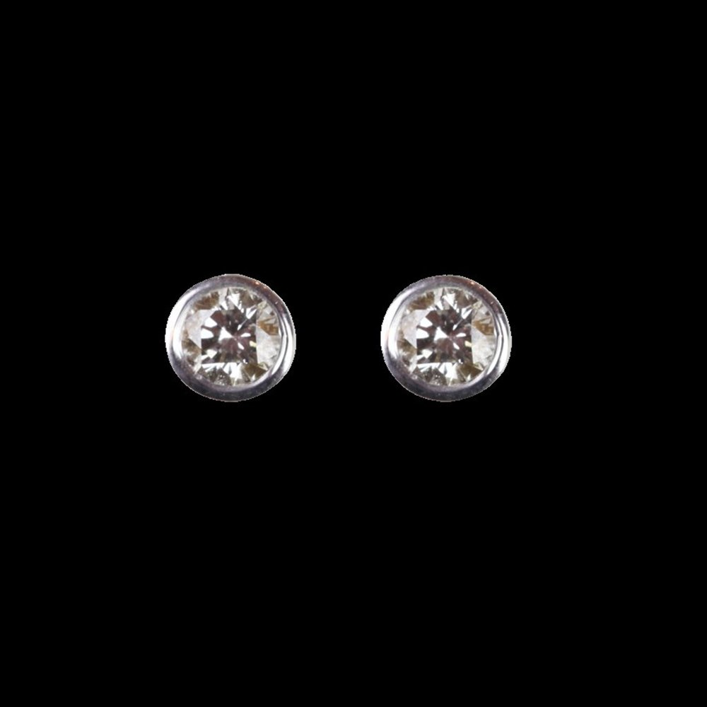 white gold of center my diamond earrings halo stud universe