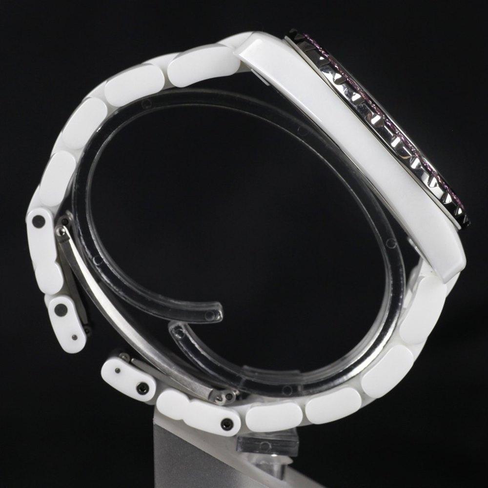 Chanel J12 White Ceramic & Stainless Steel H2011