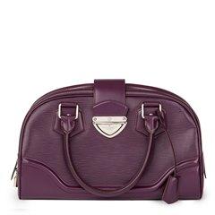 Louis Vuitton Cassis Epi Leather Bowling Montaigne GM