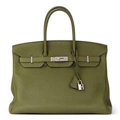 Hermès Canopee Togo Leather Birkin 35cm