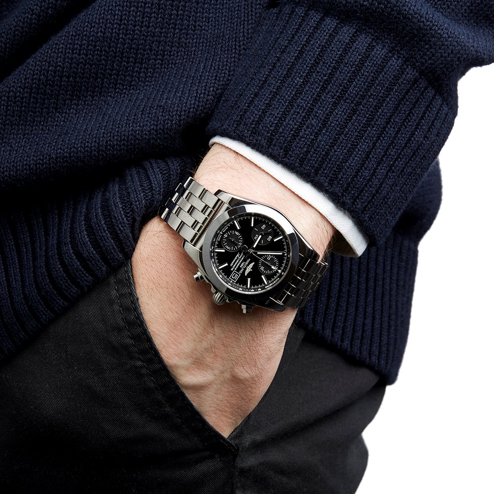 Breitling Chronomat Sleekt Chronograph Stainless Steel W1331012/BD92