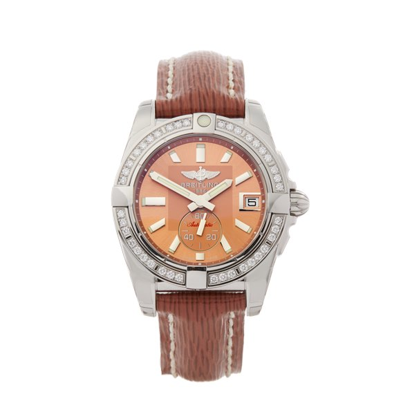 Breitling Galactic Diamond Stainless Steel - A3733053/Q582
