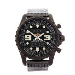Breitling ChronoSpace Black Steel Black Stainless Steel - M7836522/BA26