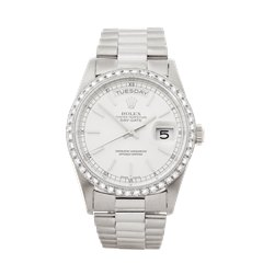 Rolex Day-Date 758 18K White Gold - 18239