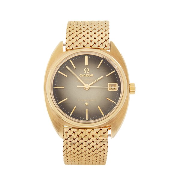Omega Constellation 18k 18K Gold Capped - CD168017