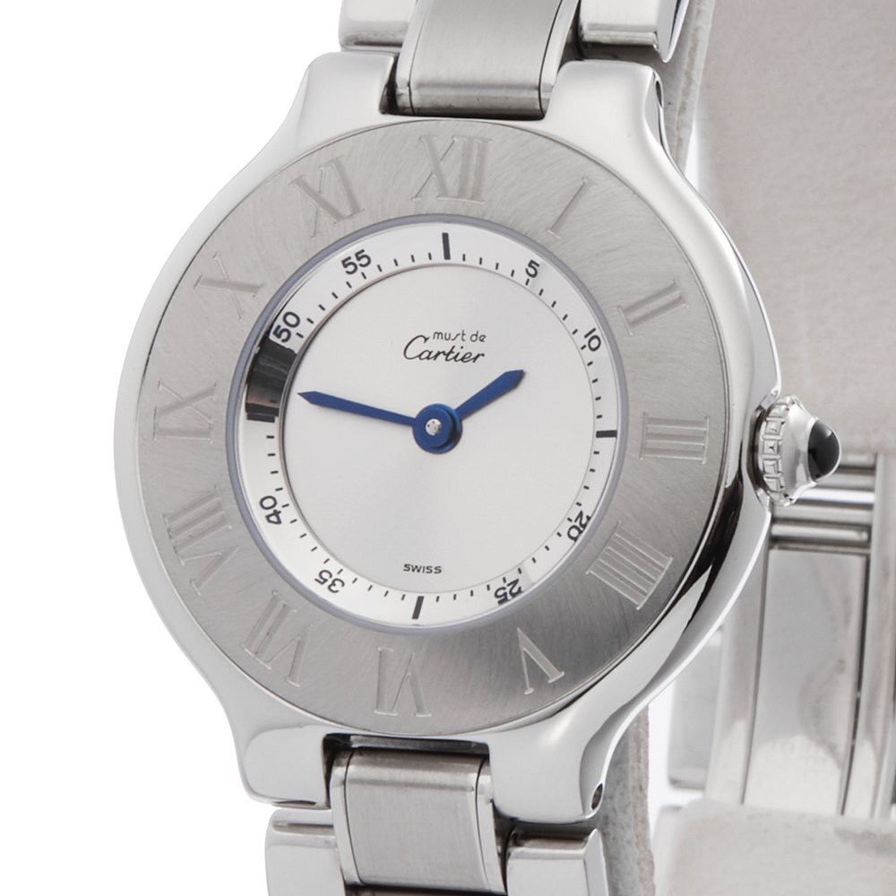 Cartier Must de 21 Stainless Steel 1340 or W10073R6