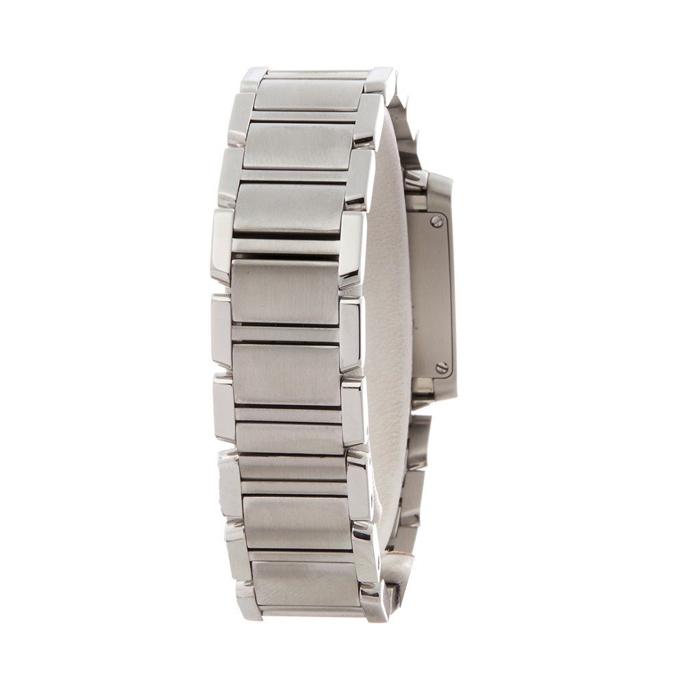 Cartier Tank Francaise Anniversary Stainless Steel W51008Q3 or 2384