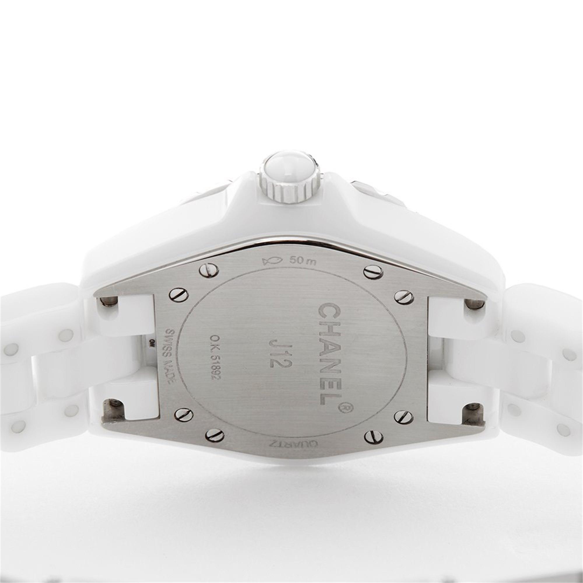 Chanel J12 Diamond Keramisch H3110