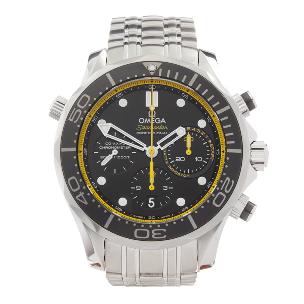 Omega Seamaster Chronograph Stainless Steel 212.30.44.50.01.002