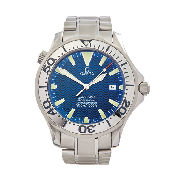 Omega Seamaster Blue Wave Dial Stainless Steel - 2255.80.00