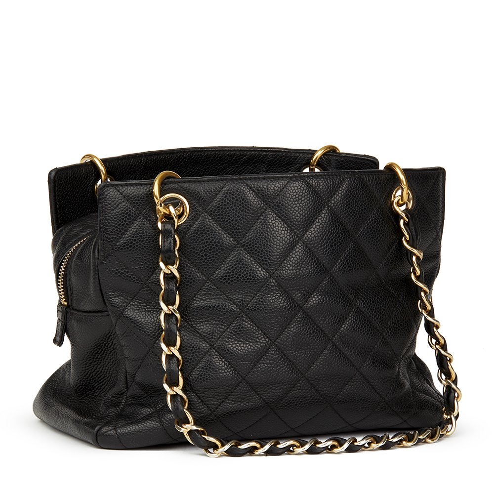 59fb1c980d88 Chanel Petite Timeless Tote 2008 HB1586 | Second Hand Handbags