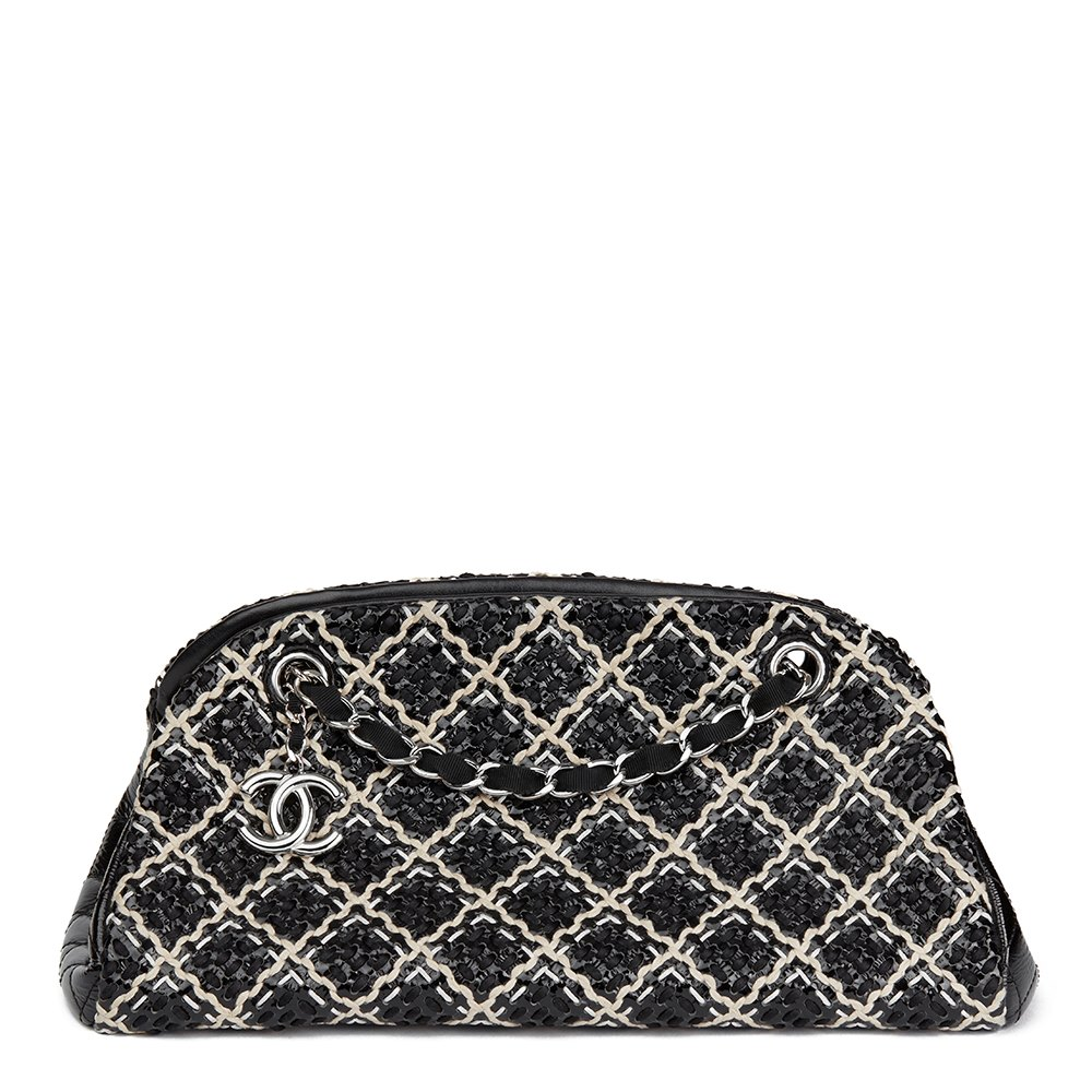 d3d101170fb677 Chanel Just Mademoiselle Bowling Bag 2011 HB1682 | Second Hand Handbags