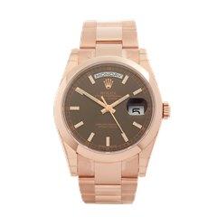 Rolex Day-Date 36 18k Rose Gold - 118205