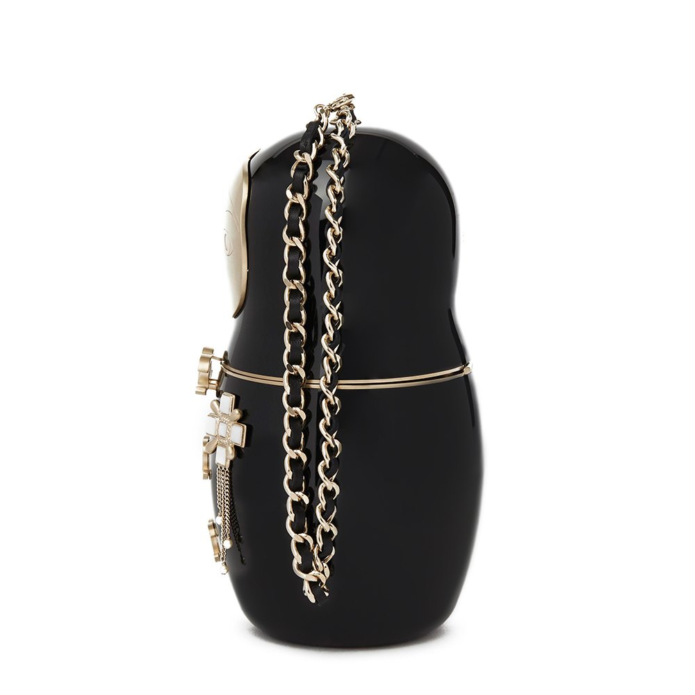 fb3c3d7bc87d6d Chanel Matryoshka Doll Minaudiere 2018 RU001 | Second Hand Handbags