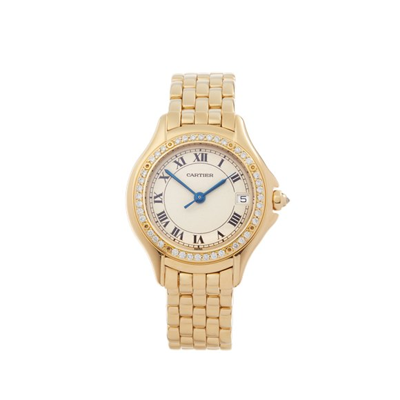 Cartier Panthère Cougar Diamond 18k Yellow Gold - WF8004F9 or 1161