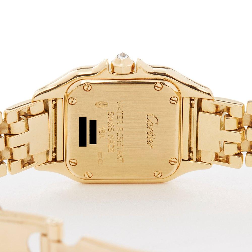 Cartier Panthère Diamond 18k Yellow Gold WF3159HP or 1280