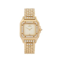 Cartier Panthère Diamond 18K Yellow Gold - WF3159HP