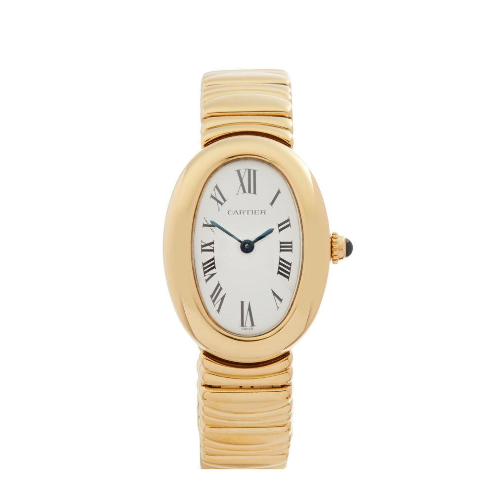 Cartier Baignoire W15045d8 Or 1954 2000 W4867 Second Hand Watches