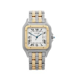 Cartier Panthère Stainless Steel & 18K Yellow Gold - 8395
