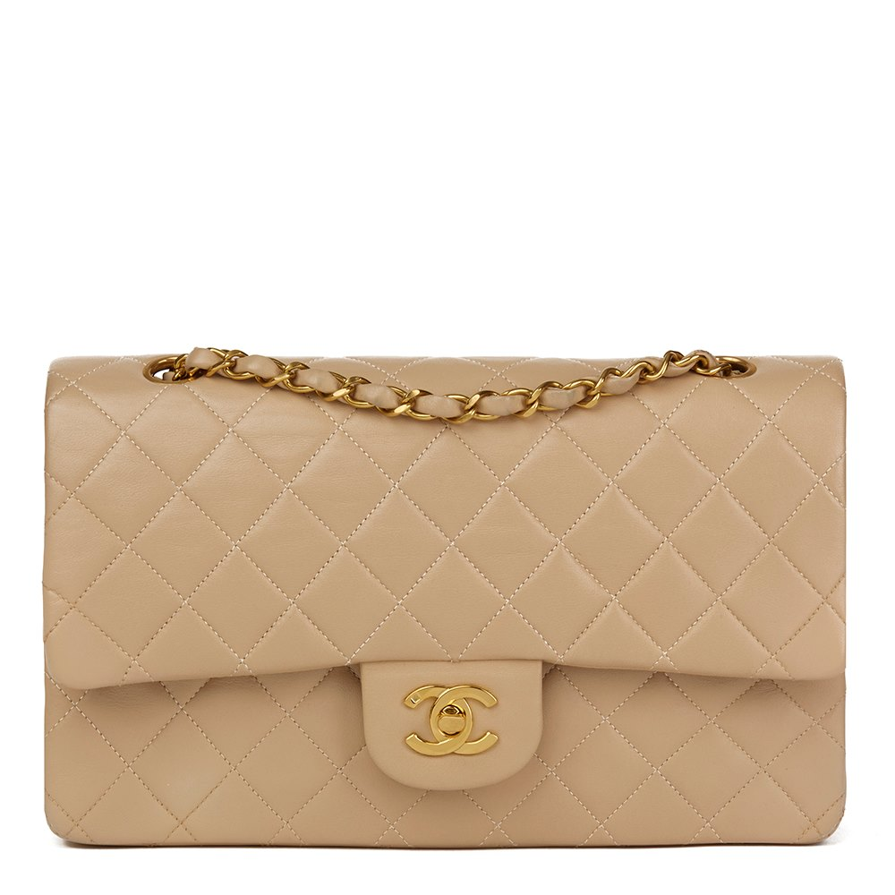 75af6754de50a3 Chanel Medium Classic Double Flap Bag 1995 HB1333 | Second Hand Handbags