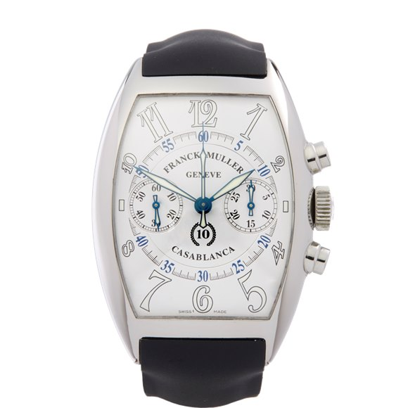Franck Muller Casablanca 10th Anniversary Chronograph Stainless Steel - 8880.C.C