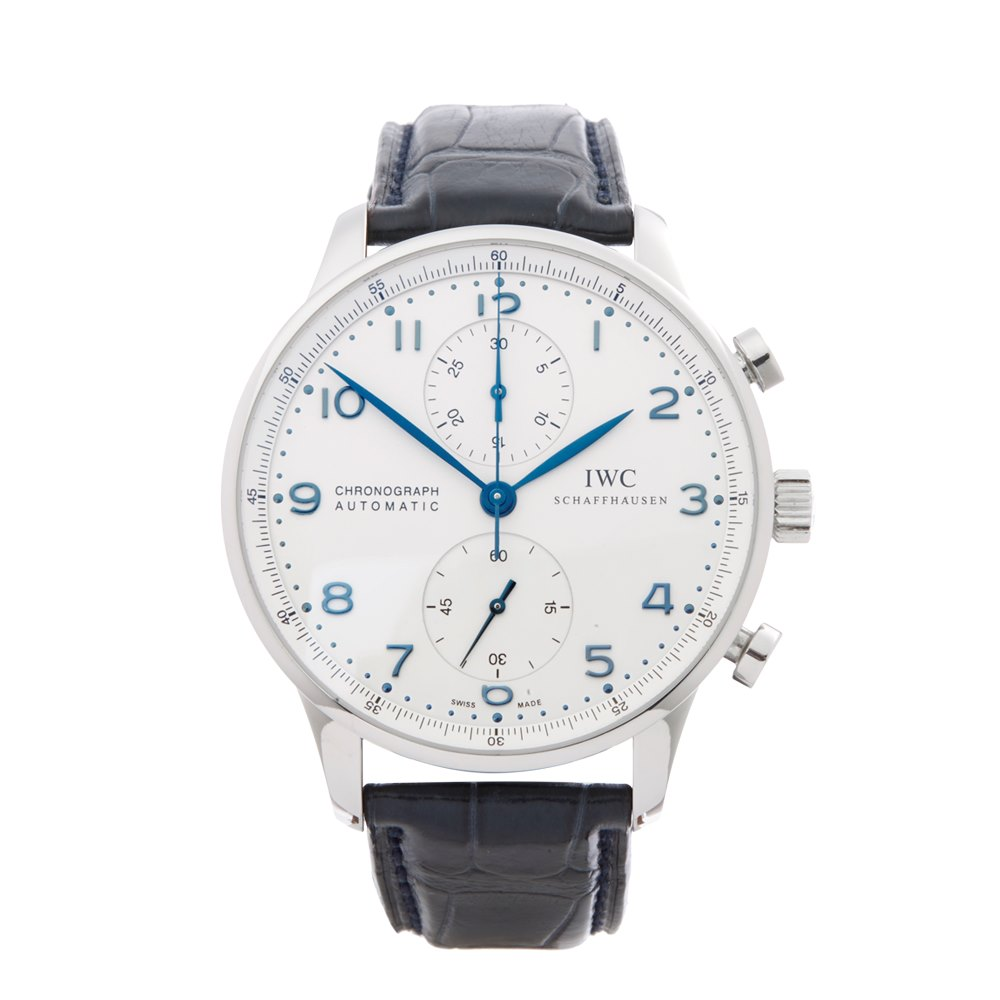 IWC Portuguese Chronograph Stainless Steel IW371446 366f5d1c21