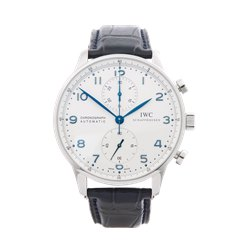 IWC Portuguese Chronograph Stainless Steel - IW371446