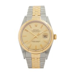 Rolex Datejust 36 Stainless Steel & 18K Yellow Gold - 16013