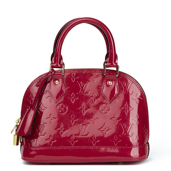 Louis Vuitton Indian Rose Vernis Leather Alma BB