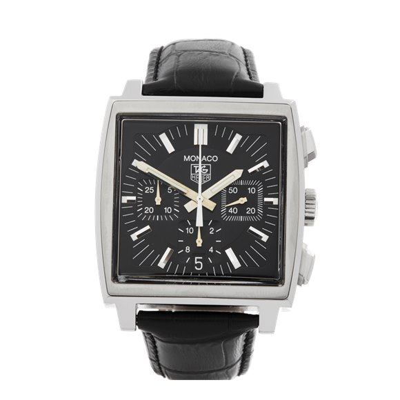 Tag Heuer Monaco Chronograph Stainless Steel - CW2111-0
