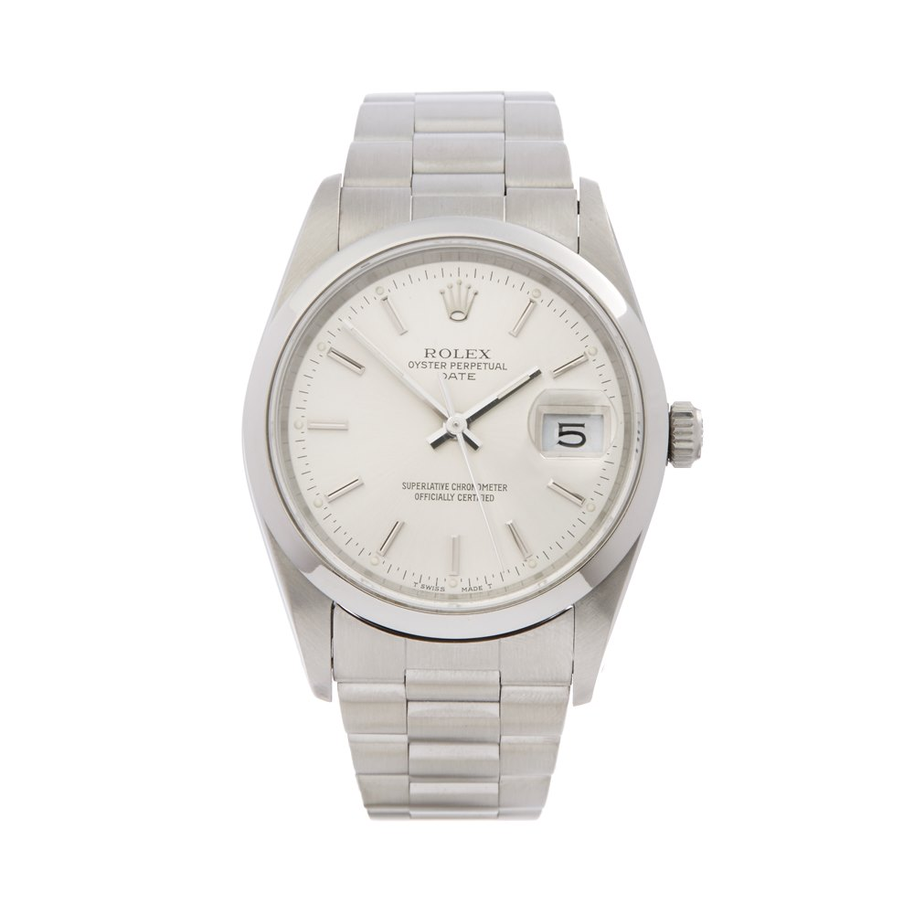 Pre Owned Rolex Watch Oyster Perpetual Date 15200 Xupes