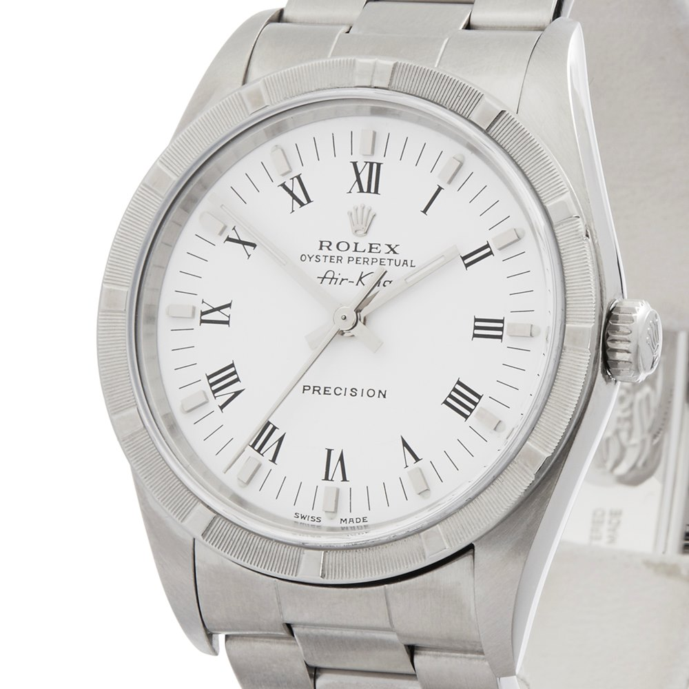 Rolex Air-King 34 Precision Stainless Steel 14010