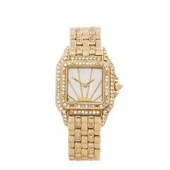 Cartier Panthère Diamond 18K Yellow Gold - WF3006BP
