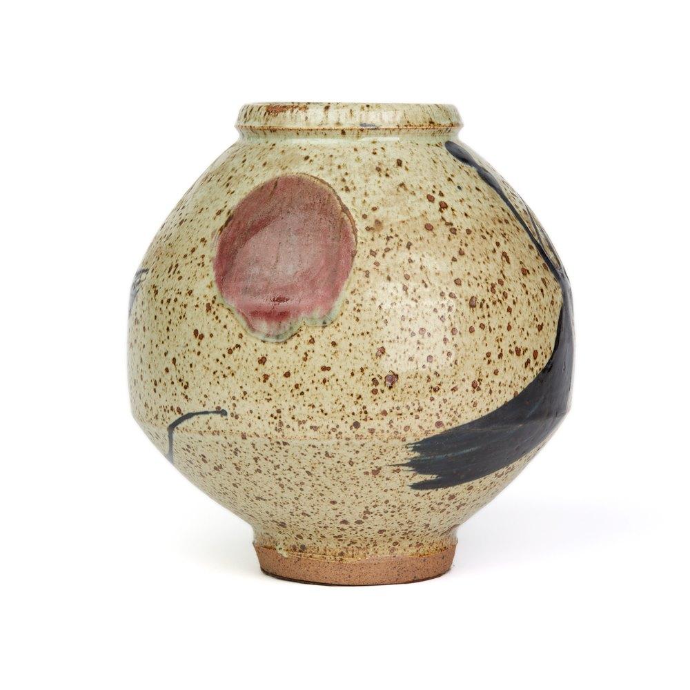 Wayne Ngan Studio Pottery Vase 20th C. 20th Century