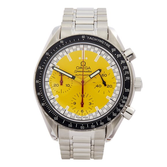 Omega Speedmaster Schumacher Chronograph Stainless Steel - 3510.12.00