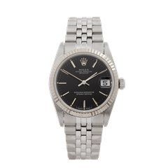 Rolex Datejust 31 Stainless Steel & 18K White Gold - 68274