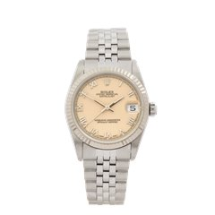 Rolex DateJust 31 Stainless Steel & White Gold - 68274