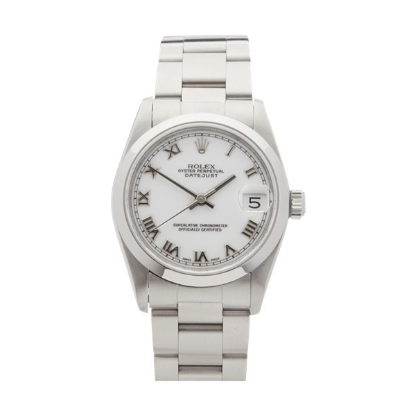 Rolex DateJust 31 Stainless Steel - 68240