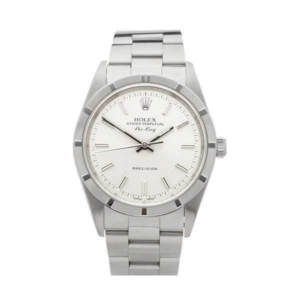 Rolex Air King 34 Stainless Steel - 14010