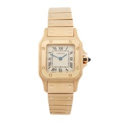 Cartier Santos Galbee 18K Yellow Gold - W20010C5
