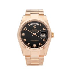 Rolex Day-Date 36 18k Rose Gold - 118205