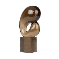 ABSTRACT MURANO GLASS SCULPTURE LIVIO SEGUSO 1970
