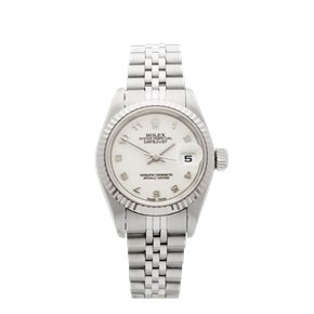 Rolex DateJust 26 Stainless Steel & White Gold - 79174