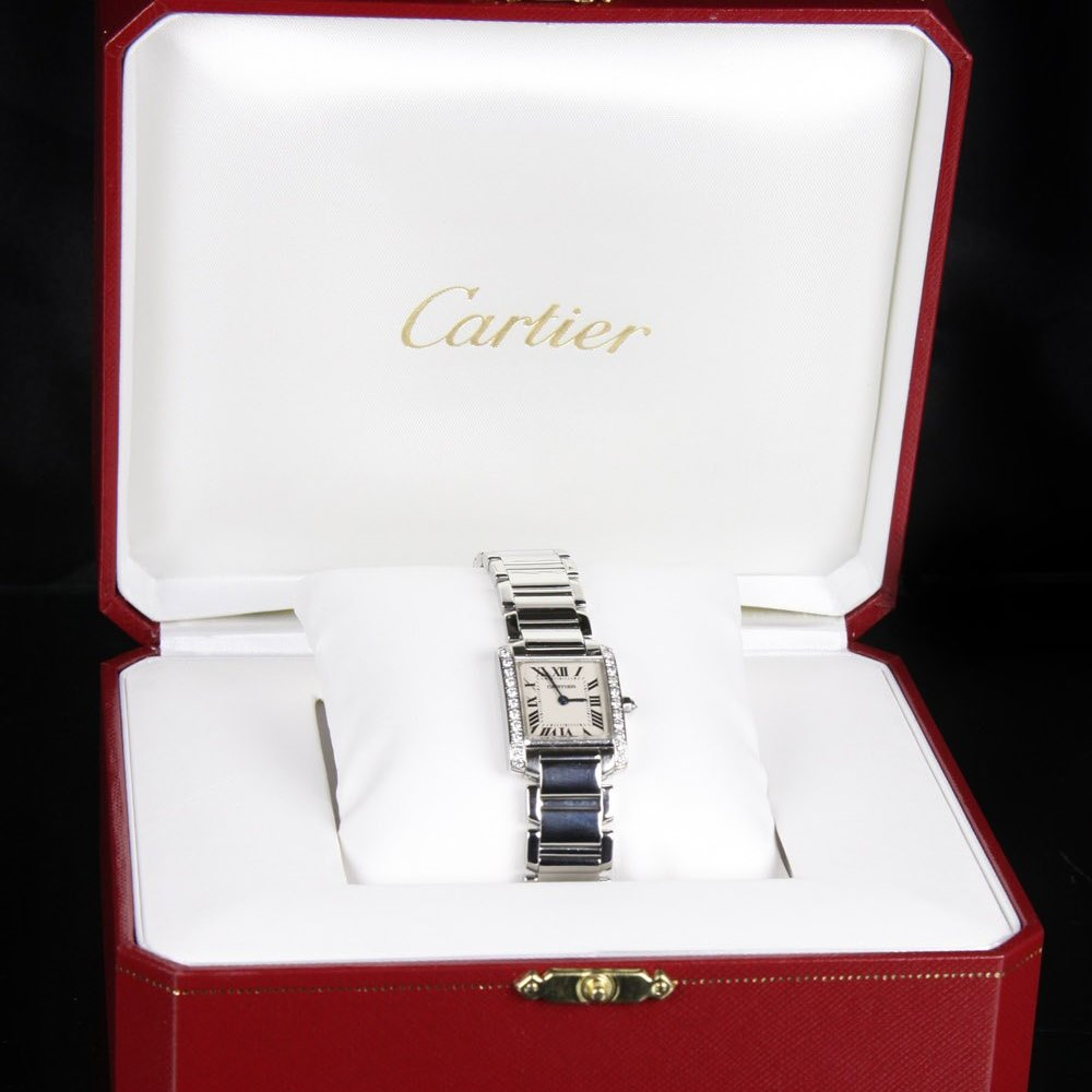 Cartier Tank Francaise Stainless Steel