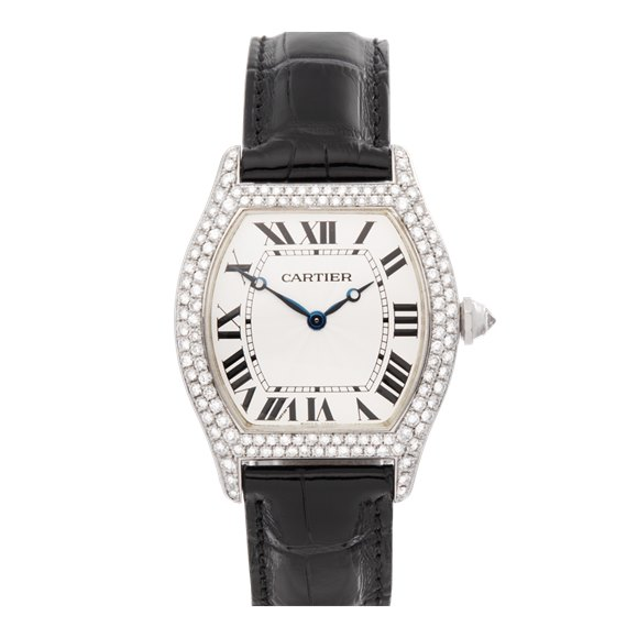 Cartier Tortue Diamond 18k White Gold - WA503851