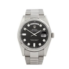 Rolex Day-Date 18K White Gold - 118239
