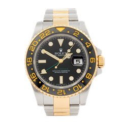 Rolex GMT-Master II Stainless Steel & 18K Yellow Gold - 116713