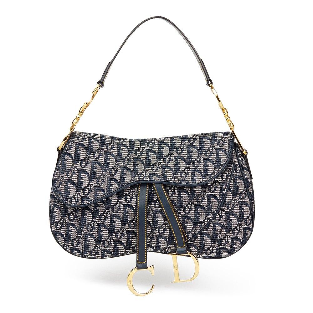 f53e1f4c1 Christian Dior Saddle Bag 2001 HB1766 | Second Hand Handbags | Xupes